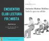 ENCUENTRO  DEL CLUB DE  LECTURA DE FRÓMISTA